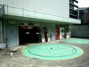 日本生命博多駅前ビル駐車場
