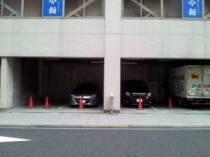 P983今朝ビル内駐車場~軽自動車専用~