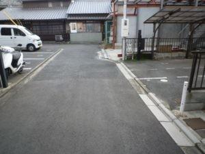 P474(屋根付き)京都清水寺 池殿町駐車場