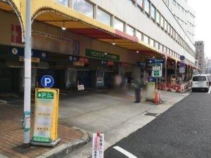 神戸サンセンタープラザ駐車場