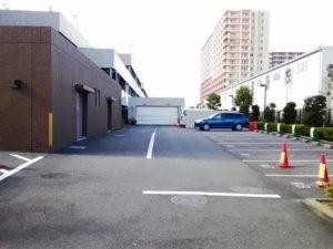 フォレシアム駐車場