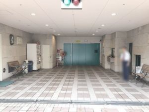 ホテルピエナ神戸駐車場